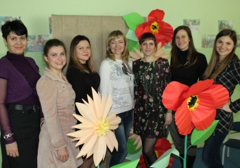 """З 6 по 10 березня """"Центр дітей та сім'ї"""" для сімей ВПО проходили інтеграційні заходи """"Зустрічаймо весну""""."""
