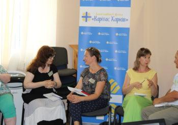 15 серпня в Карітас Харків пройшов тренінг «Ефективні комунікації при вирішені конфліктів»