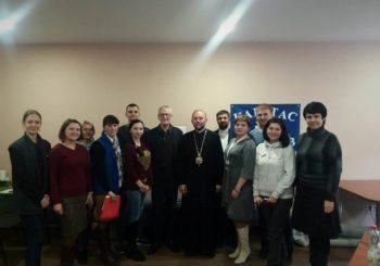 Зустріч с засновниками та координаторами Карітас Харків