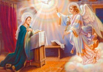 Зі святом Благовіщення Пресвятої Богородиці!